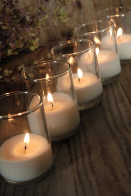 Unscented Bio-Light Votives 48 candles