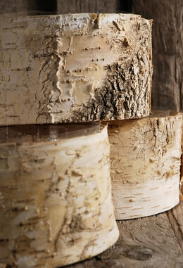 Birch Bark Planter Pot 6 5x 3 5 Inch