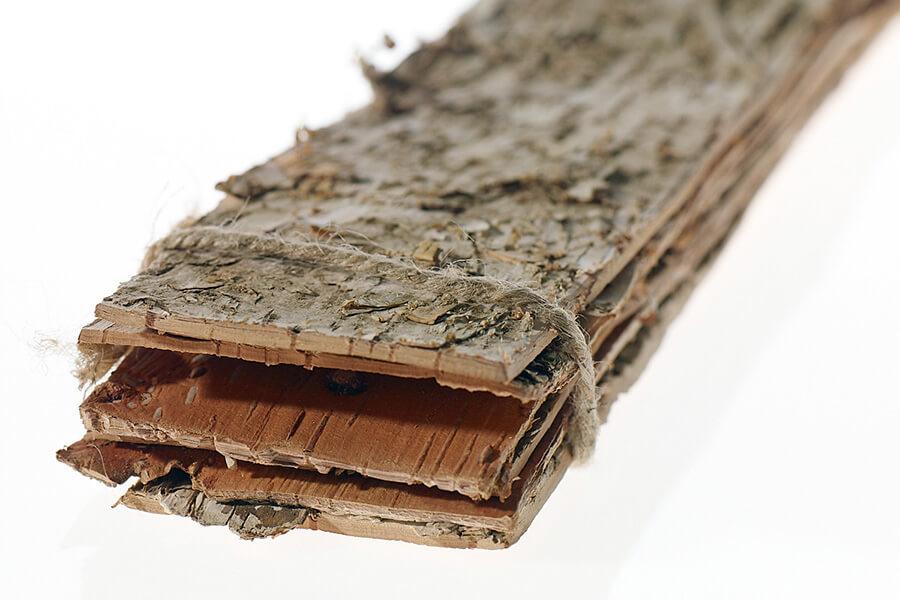 "6  Birch Bark Strips  2.75"" width  x 23"""