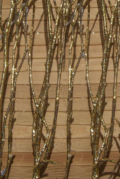 Gold Natural Birch Branches 3 4ft