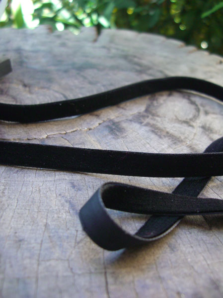 "Black Velvet SF Ribbon  3/8"" x 33yds"