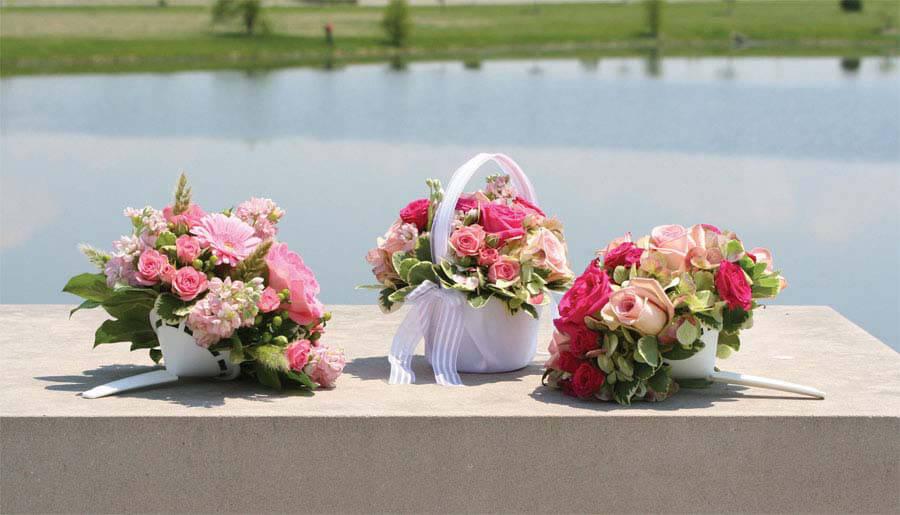"""Bouquet Holder   7.5"""""""