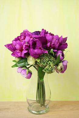 Fuchsia Pink Peony Bouquet