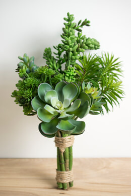 Succulent Bouquet Natural Touch