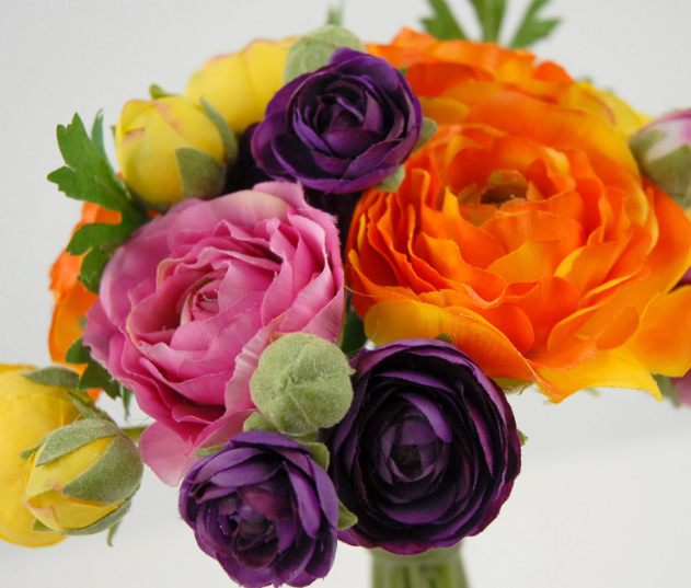 Ranunculus Flower Bouquet 9\