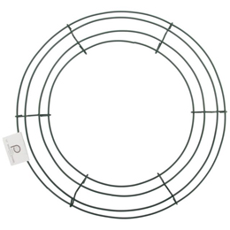 "10 Box Wire 16"" Wreath Frames"