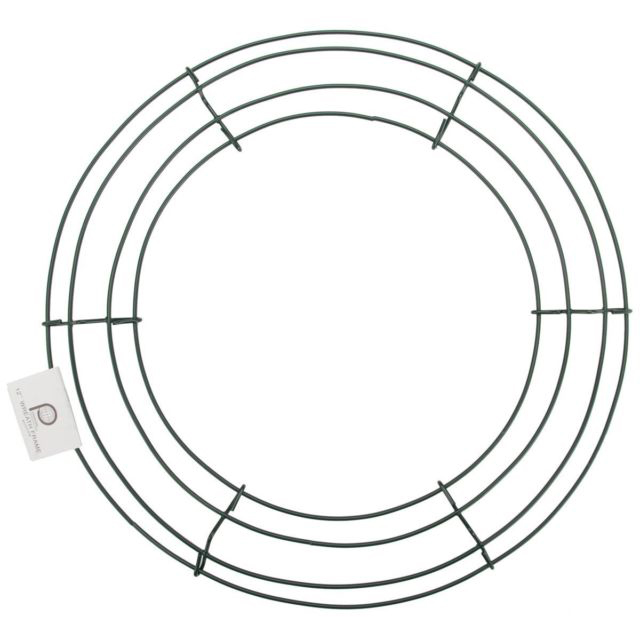 10- 18 Inch Box Wire Wreath Frames