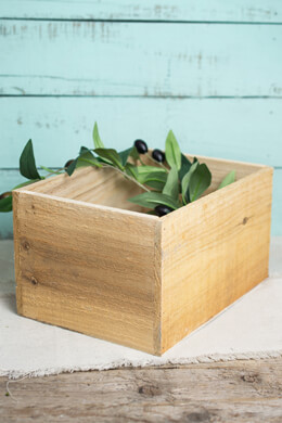 Handmade Wood Planter Boxes 10 x 7.5