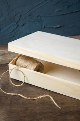 Wood Hinged Box 9x12