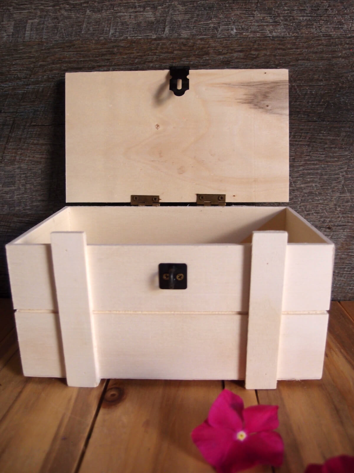 Hinged Lid Pallet Storage Crate 7 5 Quot
