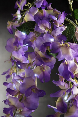 LED Lighted Wisteria Branches 32in
