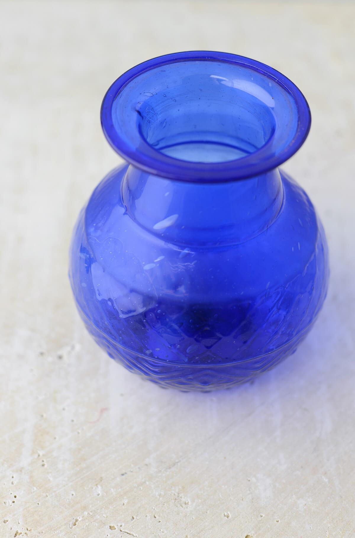 Blue glass 5 vase cobalt blue glass 5 vase floridaeventfo Image collections