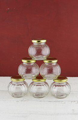Bubble Jars 7oz (Set of 6)
