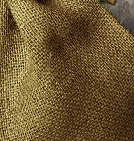 12 Burlap Bags Moss Green 5x7