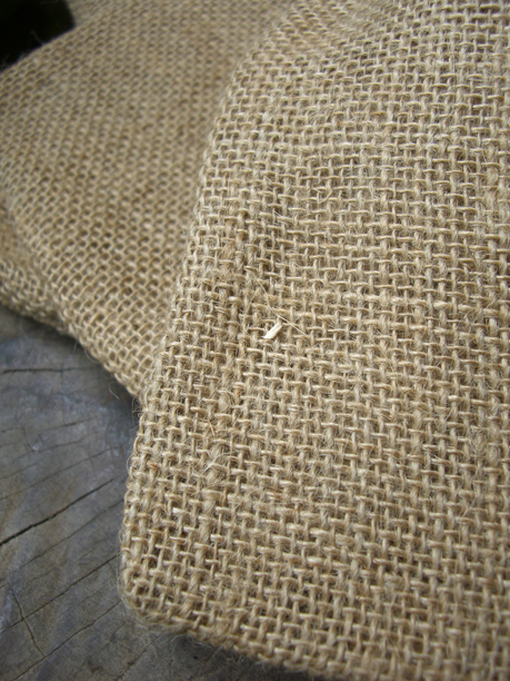 12 Burlap Favor Bags with Drawstring 5.75in x 9.75in