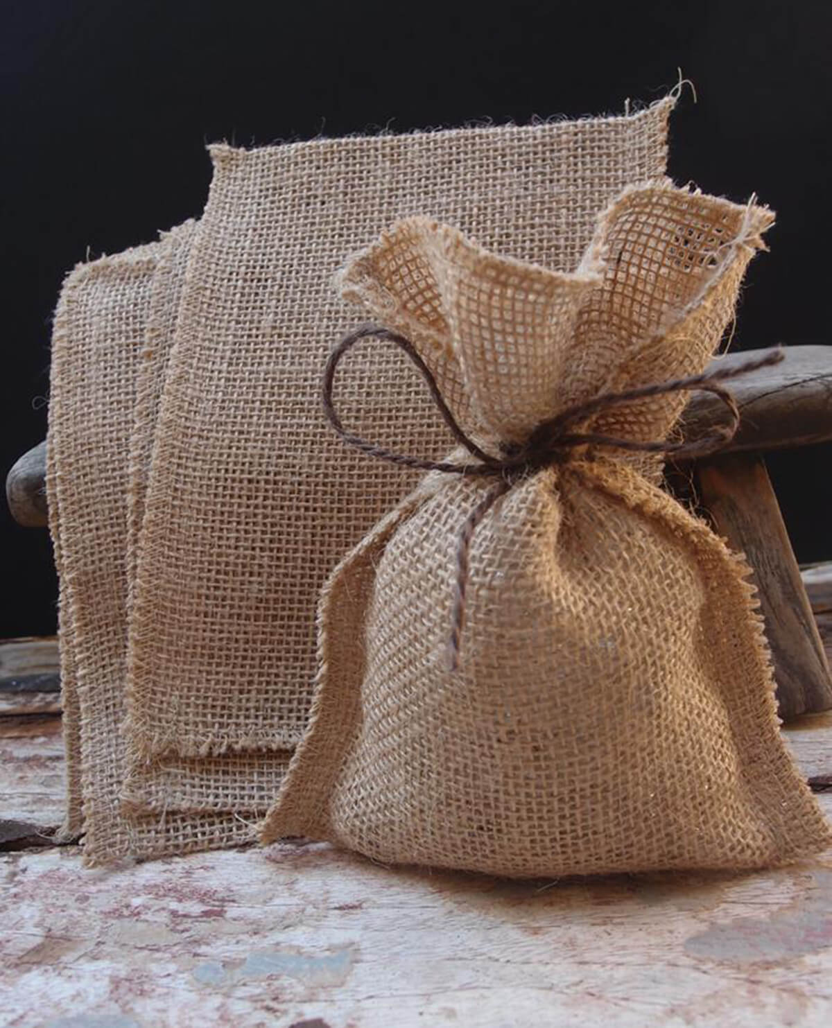 Burlap Bags Pack Of 12
