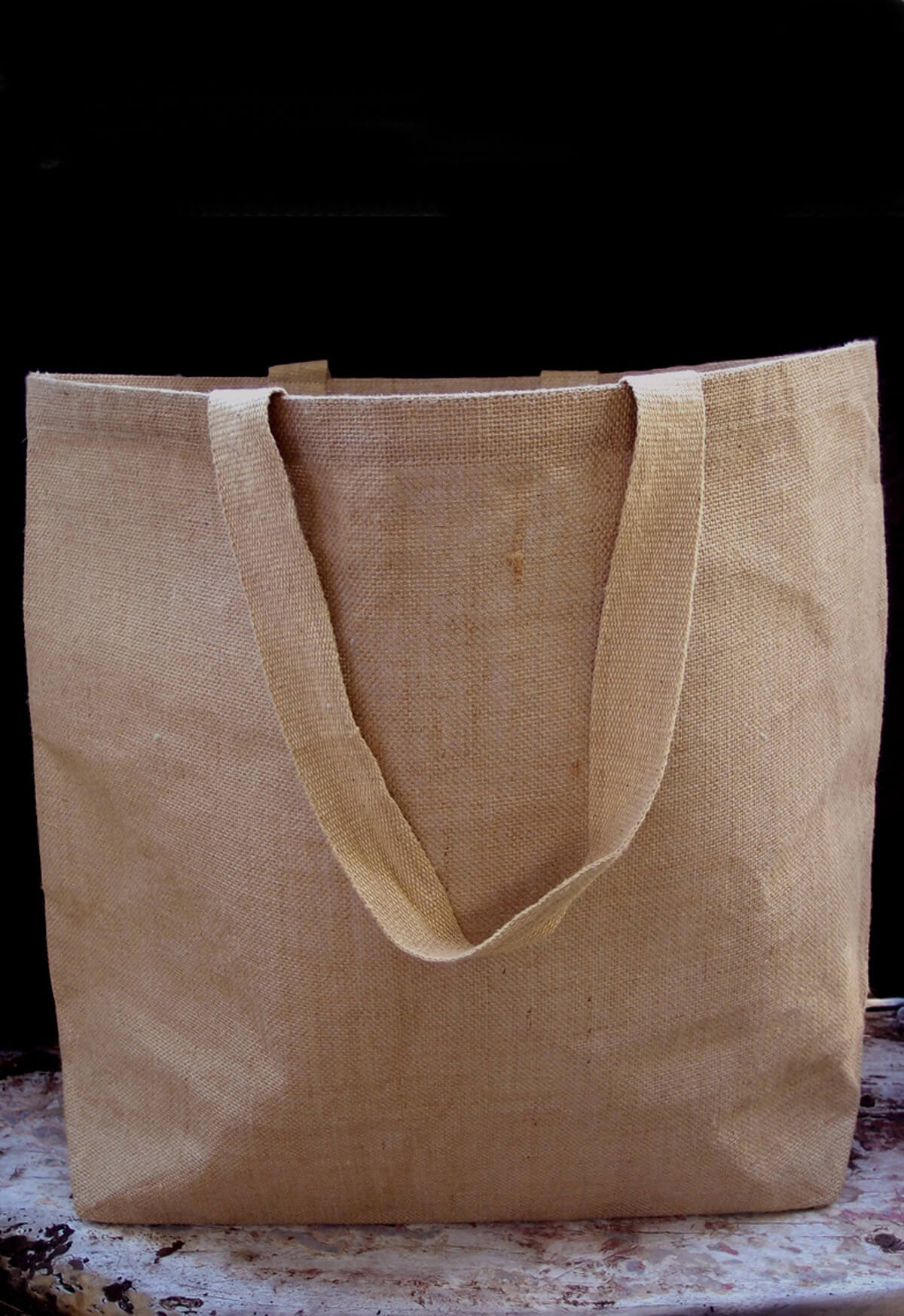 Large 20 Quot Burlap Tote Bags With Handles