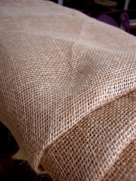 Burlap table cloths hemmed 60 x 60 square for 60 burlap