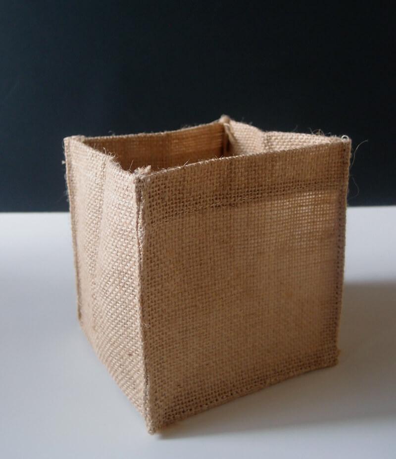 12 Burlap Pot Covers 5 Quot Square
