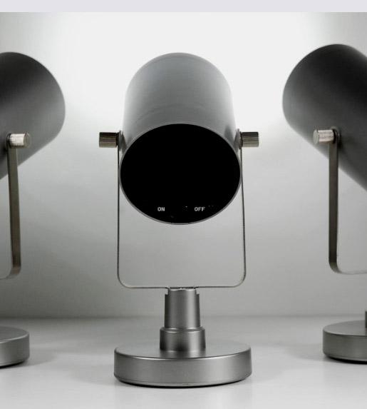 3 LED E-Swivel SpotLyte Ultra White by Acolyte