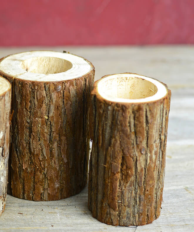 Tree Branch Votive Candle Holders
