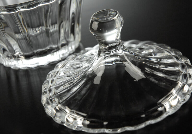 Candy Bowl with Glass Lid