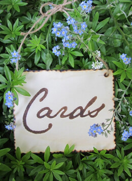 Wedding Card & Envelope Holders, Signs, Props