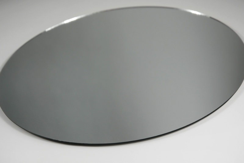 Six quot round glass table mirrors bulk buy