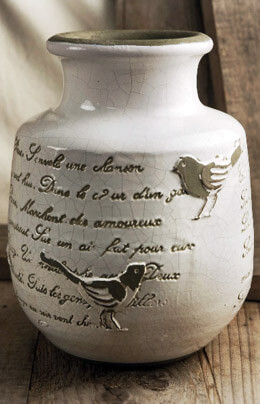 French Song Crackle Glaze Vase