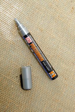 Chalk Marker Metallic Silver 6mm