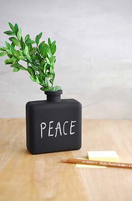 6 Matic Vase Chalkboard Bottles 4.25in