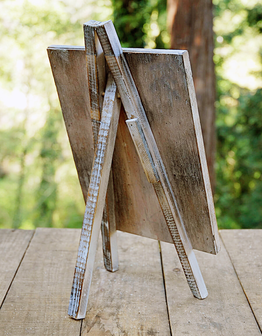 table top easel. Chalkboard Table Top Easel 8\ B