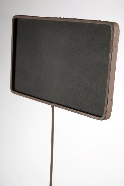 "Tall Chalkboard on Stake, Metal Framed 24"""