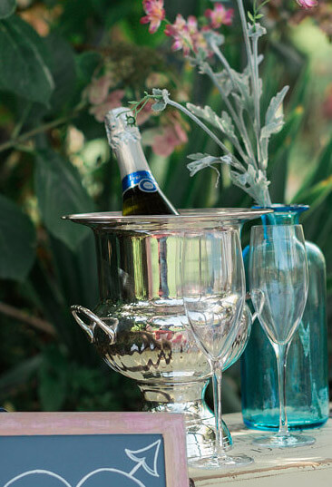Silver Plated Ice Bucket Champagne Bucket