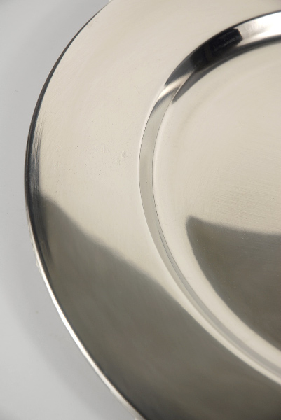Charger Plate Stainless Steel 12in