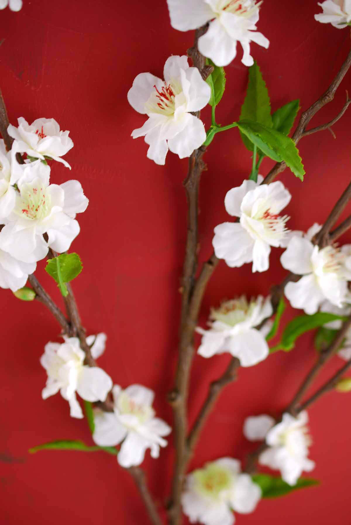 Silk cherry blossom branches 39 white silk cherry blossom branches 39 dhlflorist Image collections