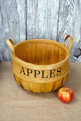 Chipwood Apple Baskets 12in
