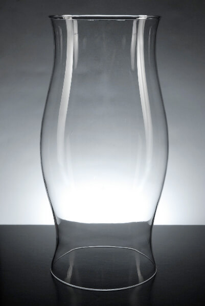 Glass Hurricane Candle Shade 11 5in