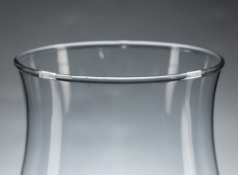 Glass Hurricane Candle Shade 11.5in