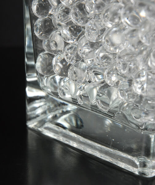 Water Pearls Clear Jumbo Size 5 2oz Vase Filler