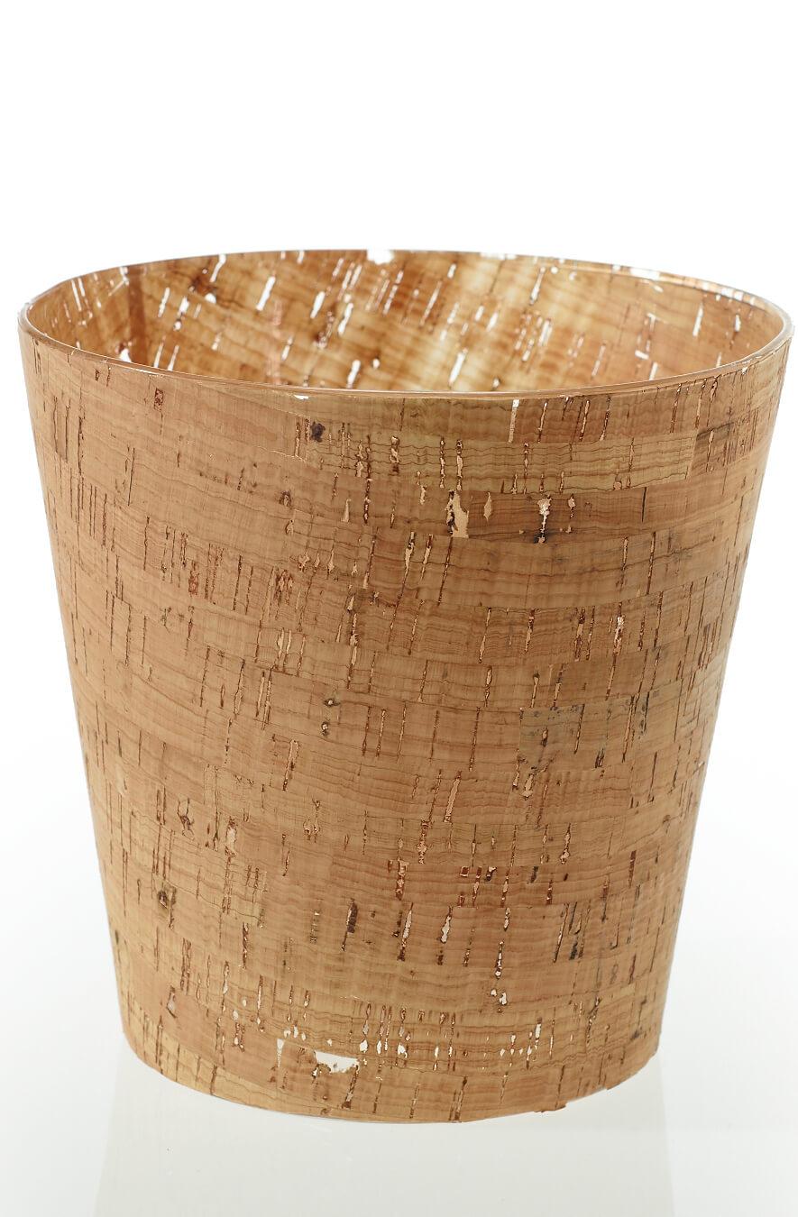 """Cork Vase &  Votive Candleholder 6"""""""