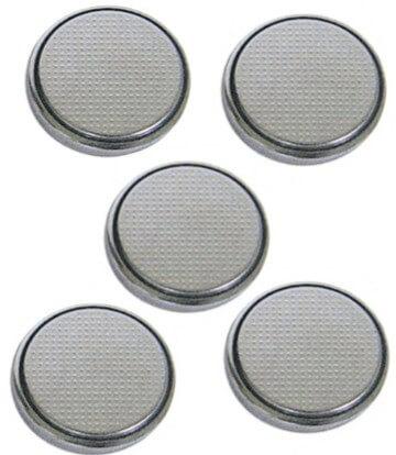 CR2032 High Power Lithium Button Cell (5 batteries/pkg) Batteries