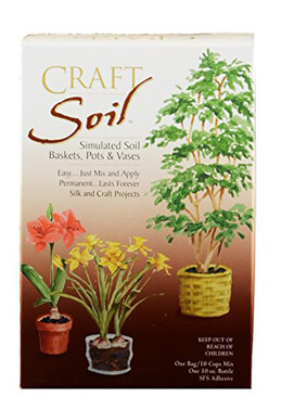 Craft Soil for Baskets, Pots and Vases