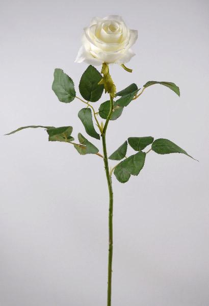 Cream white long stem silk roses 27 mightylinksfo