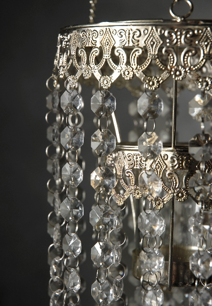 Crystal candle holder chandelier 24in aloadofball Images