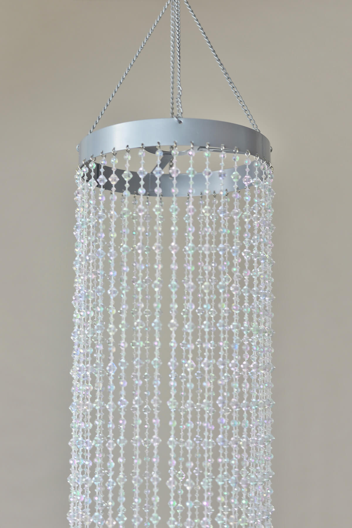 5 plug in crystal chandelier w light kit aloadofball Gallery
