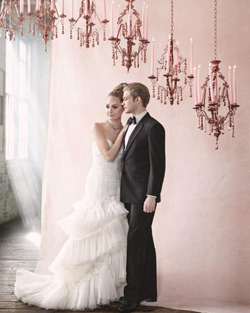 """Paris Flea Market Crystal Chandelier 23"""" As seen in Martha Stewarts Weddings"""