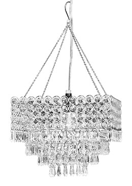 Crystal Chandelier Square 11.5x9
