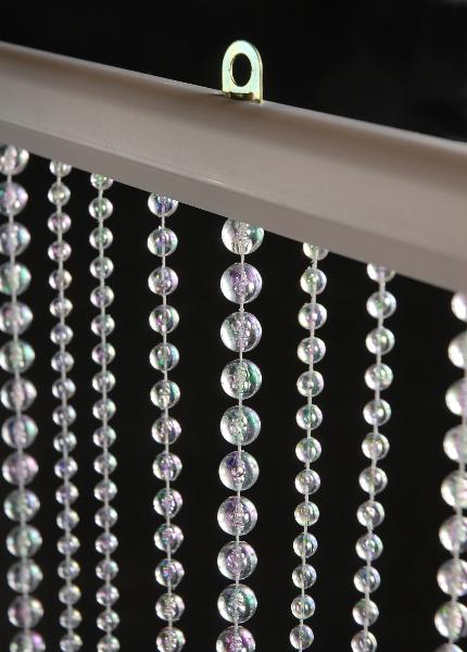 """Acrylic Crystal Curtains 35"""" x 9 Feet"""