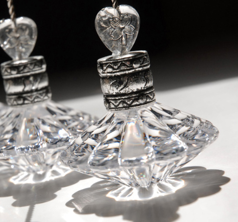 4 Crystal Place Card Amp Table Number Holders